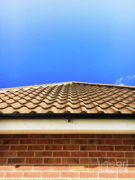 Wall Art - Photograph - Roof Tiles by Tom Gowanlock