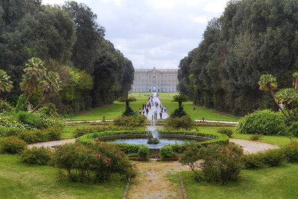 Wall Art - Photograph - Royal Palace Of Caserta by Joana Kruse