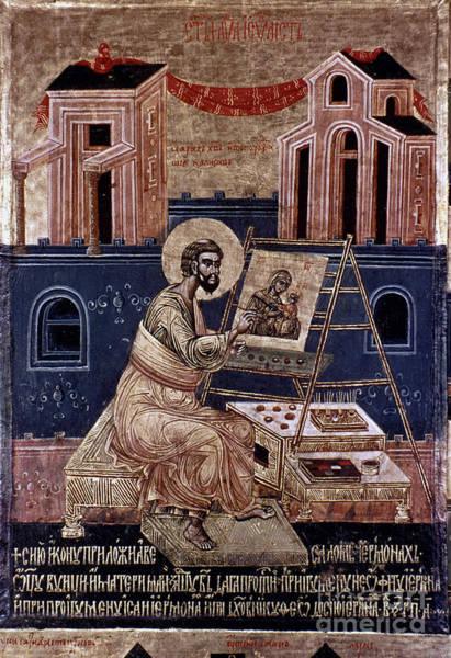 Photograph - Saint Luke by Granger
