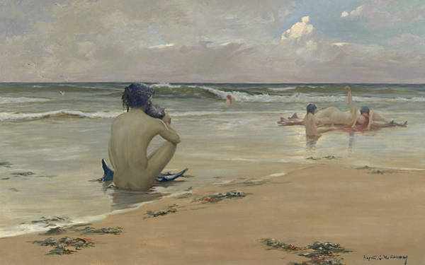 Painting - Sea Idyll by Rupert Bunny