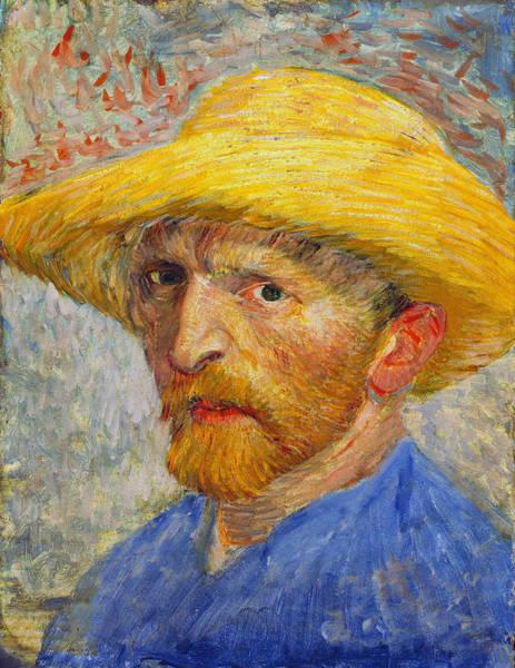 Selfportrait Painting - Self Portrait 1887 by Vincent Van Gogh