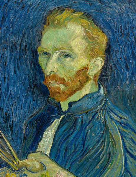 Painting - Self Portrait by Vincent van Gogh