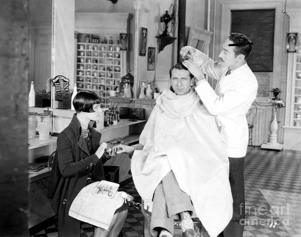 Hair Salon Wall Art - Photograph - Silent Still: Barber Shop by Granger