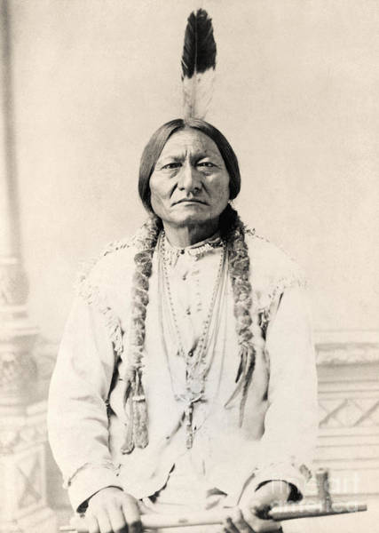 Sioux Wall Art - Photograph - Sitting Bull by American School