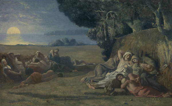 Painting - Sleep by Pierre Puvis de Chavannes
