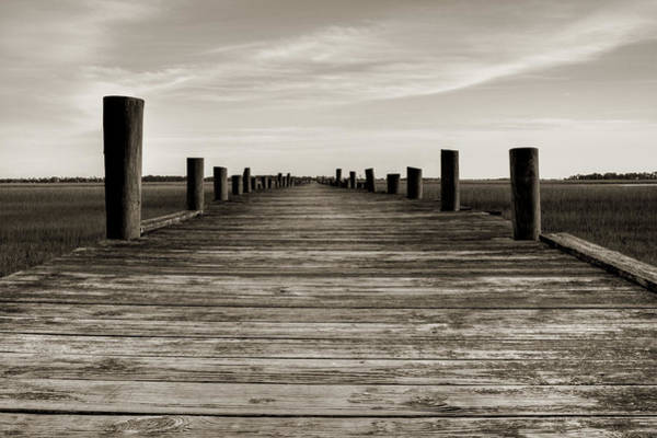 Photograph - Sol Legare Dock by Dustin K Ryan