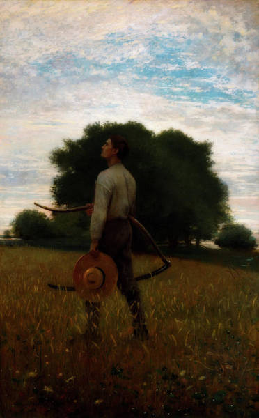 Meadow Lark Painting - Song Of The Lark by Winslow Homer