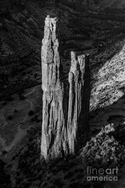 Spider Rock Photograph - Spider Rock In Canyon De Chelly by Garry McMichael