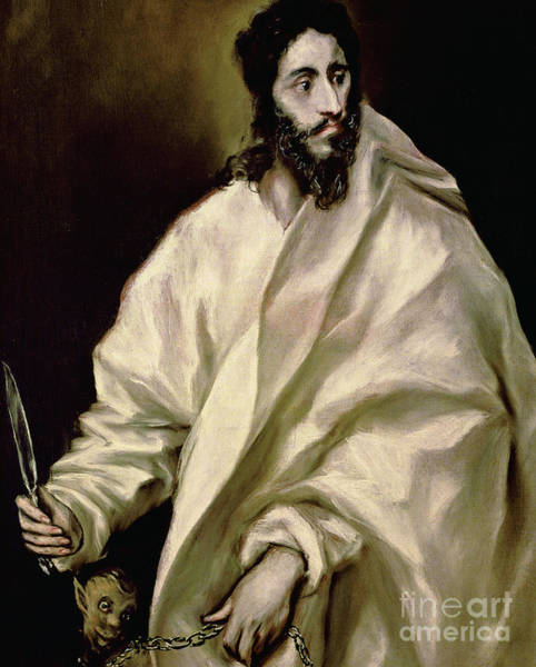 Wall Art - Painting - St Bartholomew by El Greco