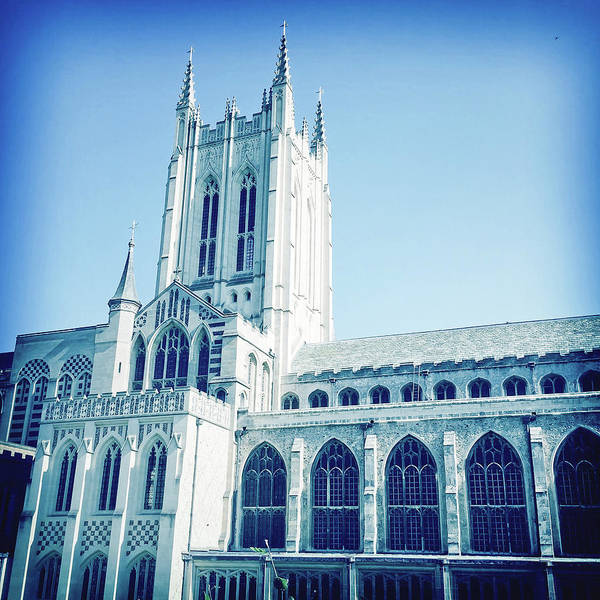 Wall Art - Photograph - St Edmundsbury Cathedral by Tom Gowanlock