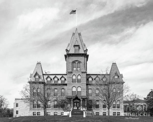Photograph - St. Olaf College Old Main by University Icons