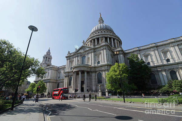 Photograph - St Pauls Cathedral London by Julia Gavin