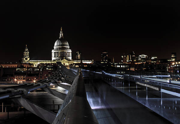 St Martin Photograph - St Paul's Cathedral by Martin Newman