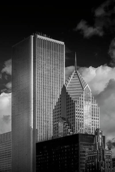 Chicago Skyline Art Photograph - Standing Tall by Andrew Soundarajan