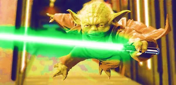R2-d2 Digital Art - Star Wars Episode 1 Art by Larry Jones