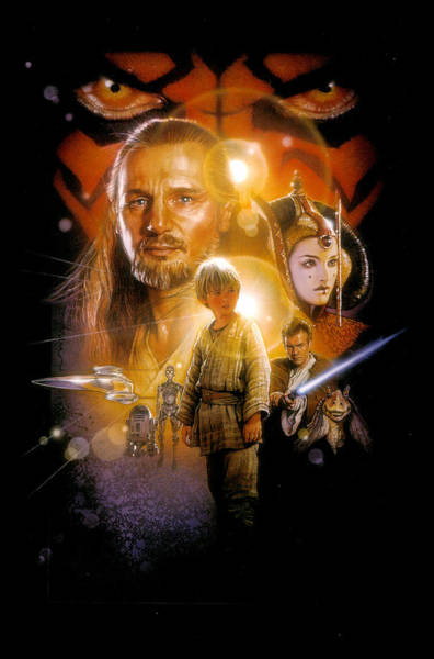 Sith Digital Art - Star Wars Episode I - The Phantom Menace 1999 by Geek N Rock