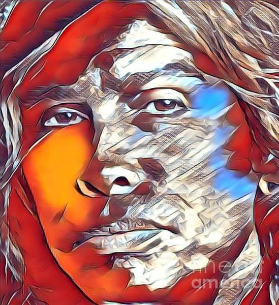 Wall Art - Mixed Media - Steven Tyler by Jeepee Aero