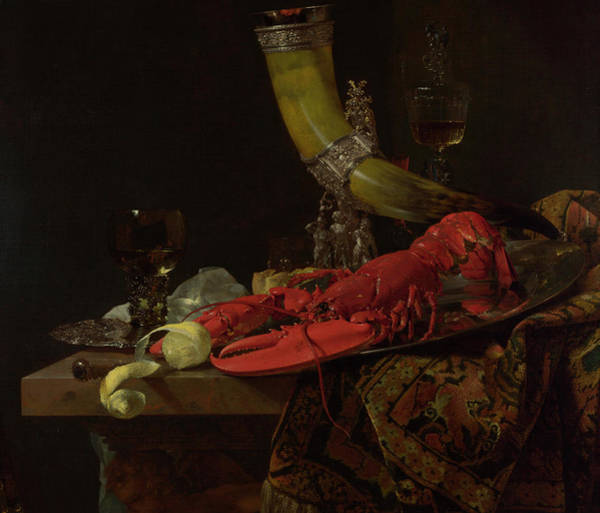 Object Painting - Still Life With Drinking-horn by Willem Kalf