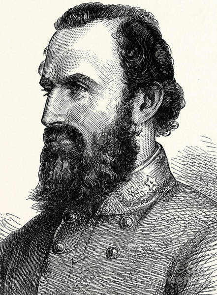 Gentleman Drawing - Stonewall Jackson by American School