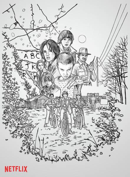 Atari Digital Art - Stranger Things by Geek N Rock