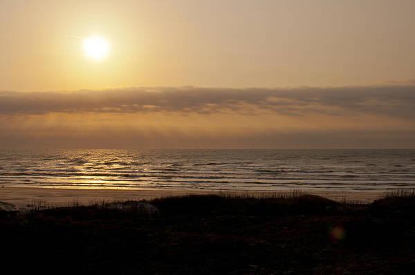 Photograph - Sunrise At Beach by Brian Kinney