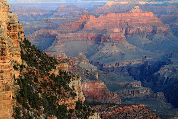 Photograph - Sunrise At Grand Canyon by Pierre Leclerc Photography