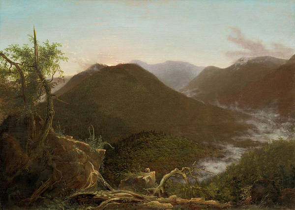 Catskills Photograph - Sunrise In The Catskills  by Thomas Cole