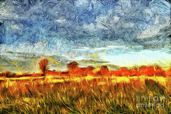 Painting - Sunrise Paint by Odon Czintos
