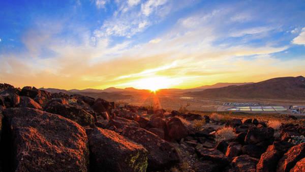 Mojave Photograph - Sunset by Hyuntae Kim