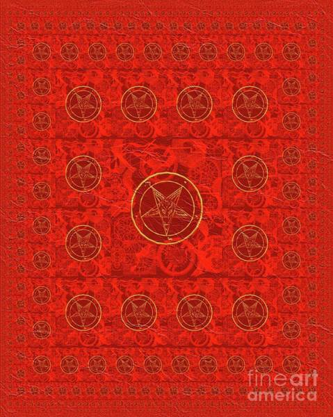 Wall Art - Painting - Symbols Of The Occult by Pierre Blanchard