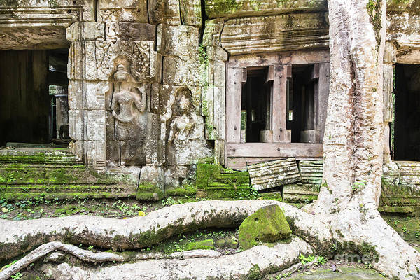 Photograph - Ta Prohm Temple In Angkor by Didier Marti