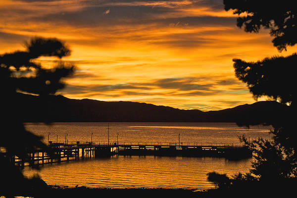 Photograph - Tahoe Sunrise by Steven Lapkin