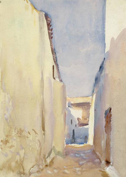 Drawing - Tangier by John Singer Sargent