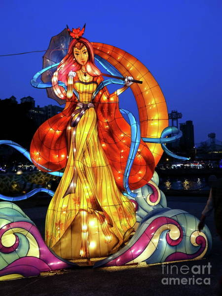 Chinese New Year Photograph - The 2017 Lantern Festival In Taiwan by Yali Shi