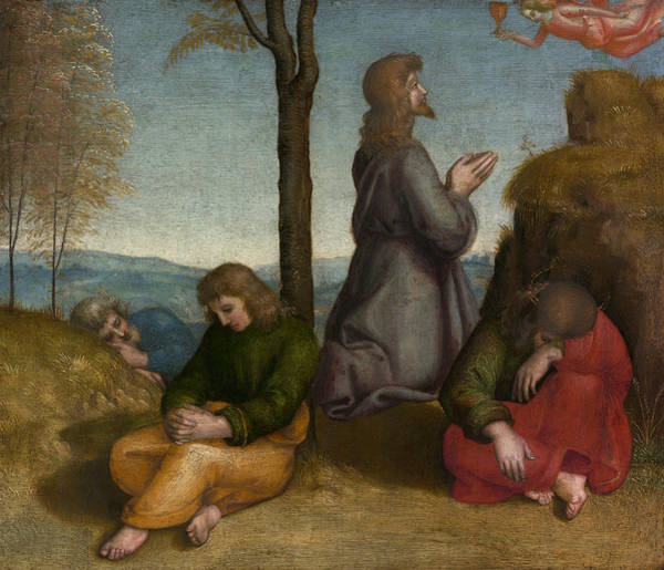 Painting - The Agony In The Garden by Raphael