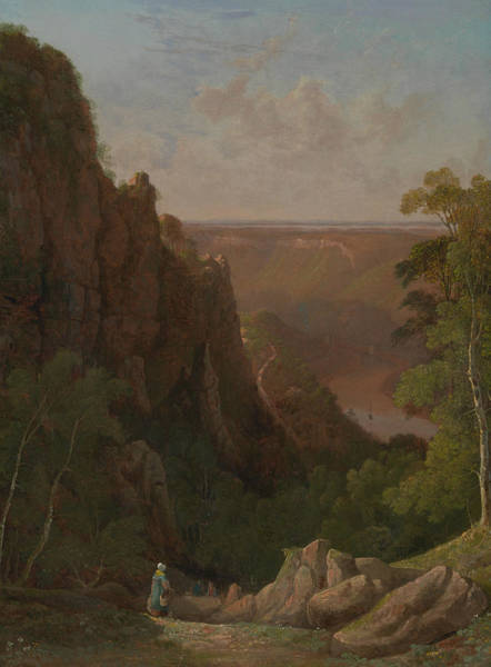 Painting - The Avon Gorge by Francis Danby