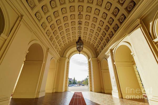 Wall Art - Photograph - The Beautiful Pasadena City Hall, Los Angeles, California by Chon Kit Leong