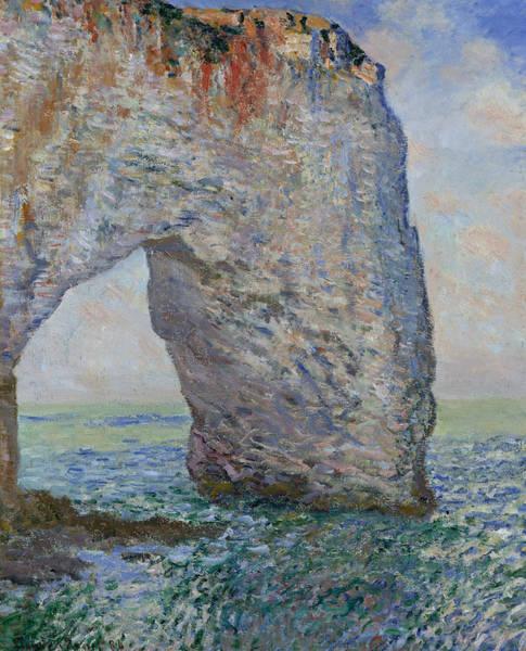 Painting - The Manneporte Near Etretat by Claude Monet