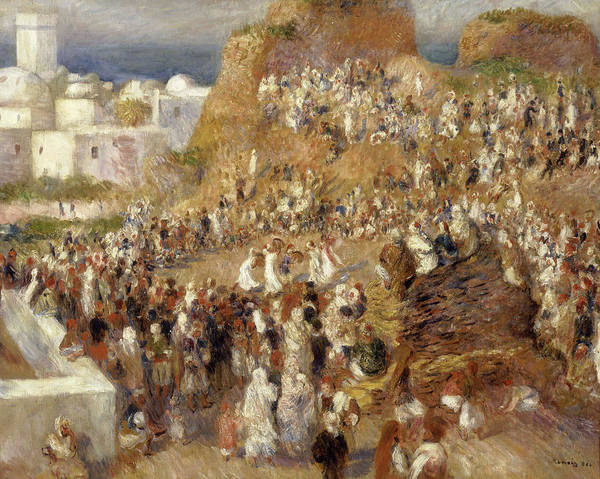 Wall Art - Painting - The Mosque by Pierre-Auguste Renoir