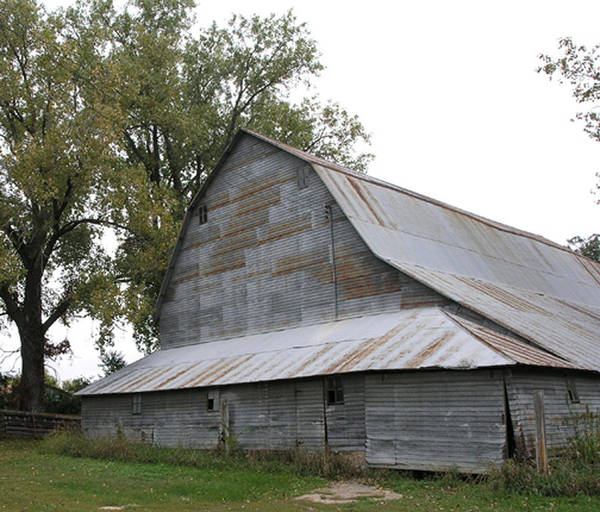 The Old Barn Art Print by Janis Beauchamp