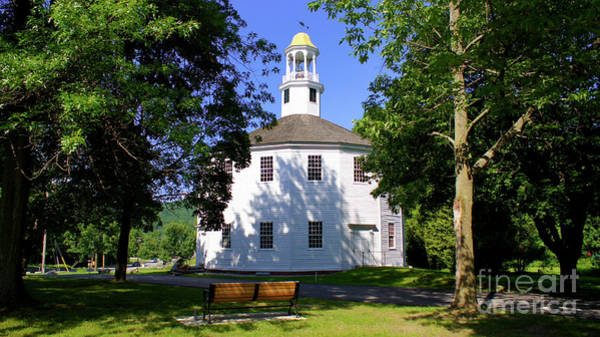 Photograph - The Old Round Church by Scenic Vermont Photography