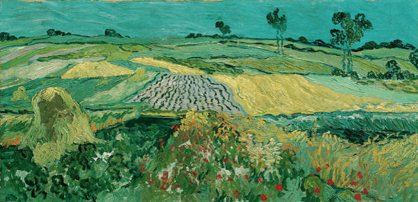 Wall Art - Painting - The Plain Of Auvers by Vincent van Gogh