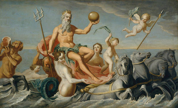 Painting - The Return Of Neptune by John Singleton Copley