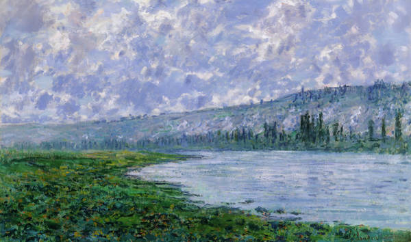 Painting - The Seine At Vetheuil by Claude Monet