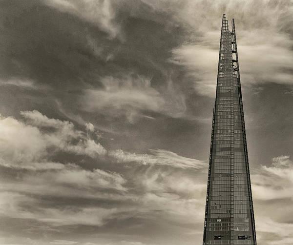 Shard Wall Art - Photograph - The Shard by Martin Newman