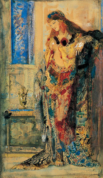 Painting - The Toilette by Gustave Moreau
