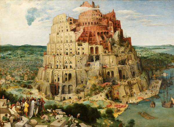Painting - The Tower Of Babel by Pieter Bruegel The Elder