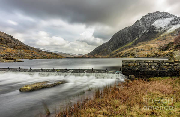 Weir Wall Art - Photograph - Tryfan Mountain by Adrian Evans