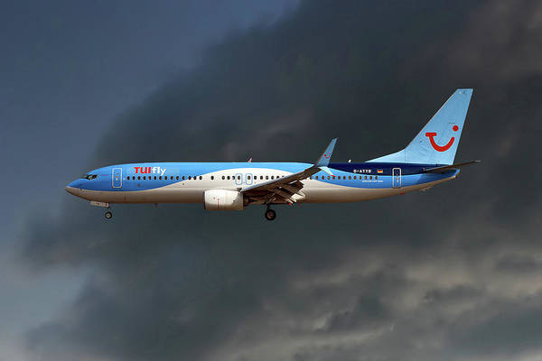 Fly Photograph - Tui Fly Boeing 737-8k5 by Smart Aviation