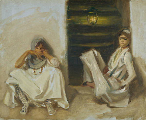 Painting - Two Arab Women by John Singer Sargent